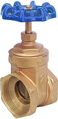 "IrrigationKing RKEV2 2"" Brass Gate Valve Reduced Bore from IrrigationKing -"