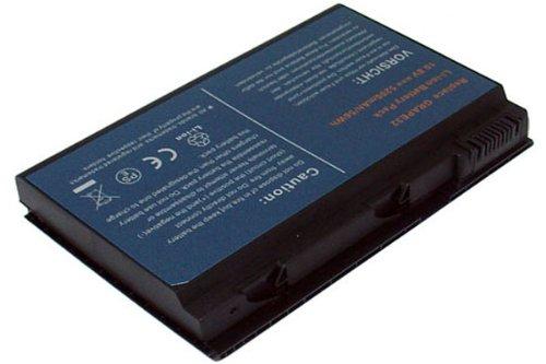 ION de litio de 10,80V y 4400mAh de repuesto para Acer TravelMate...