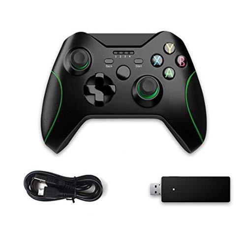 LIMIAO Controlador inalámbrico Xbox One, Controlador de Juegos Xbox 360 Slim 2.4 G, Joypad Remote Compatible con PS3 y PC Windows 7/8/10
