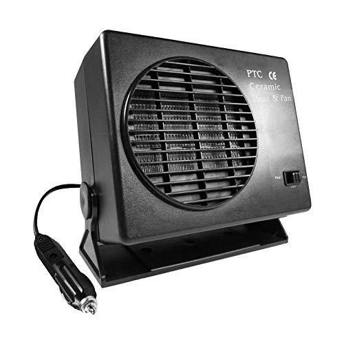 funihut - Calefactor de Coche/descongelador de Parabrisas de 12 V y 300 W. Calefactor Universal de cerámica para vehículos eléctricos SUV, 300W