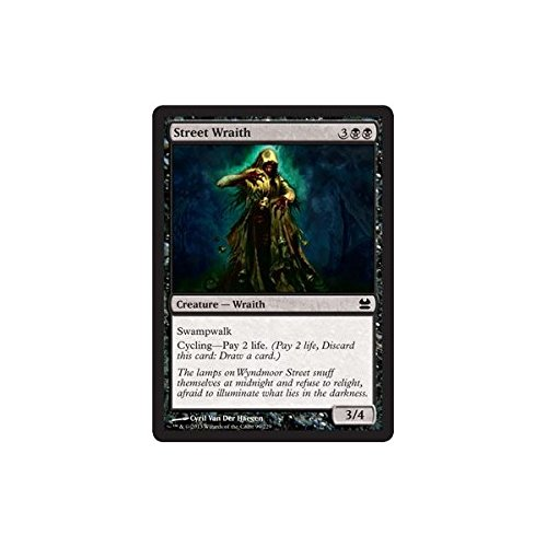 Magic The Gathering - Street Wraith - Modern Masters