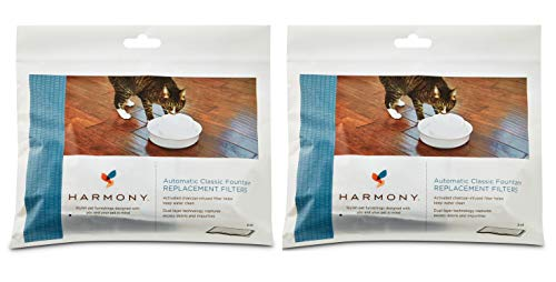 Harmony Automatic Cat Water Fountain Charcoal Replacement Filters (6 ct.)