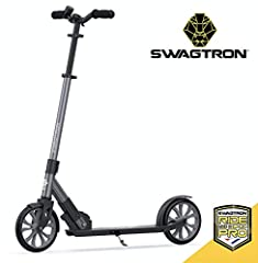 The Name trusted by the pros — the K8 Titan shows why Swagtron is the official scooter brand of the Chicago Cubs. Sleek design meets impeccable performance. You won't find a better foldable scooter than the K8. Looks Great, rides perfectly — with a d...