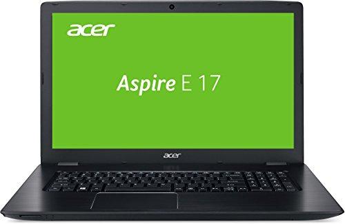 Acer Aspire E 17 (E5-774G-553R) 43,9 cm (17,3 Zoll Full HD) Laptop (Intel Core i5-7200U, 8GB RAM, 128GB SSD, 1000GB HDD, GeForce 940MX, DVD, Win 10) schwarz