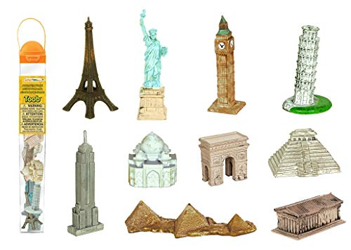 Safari Toobs Welt-Miniatur-Set