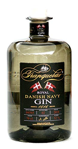 Tranquebar Royal Danish Navy Gin 52% 0,7 Liter