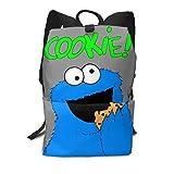 セサミストリート クッキー モンスター リュック バックパック リュックサック ビジネスリュック メンズ レディース カジュアル 男女兼用 軽量 大容量 通勤 通学 旅行 鞄 バッグ カバン