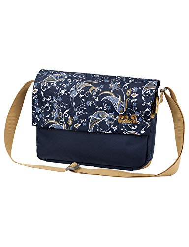 Jack Wolfskin Damen PAM Schultertasche, midnight blue all over, ONE SIZE