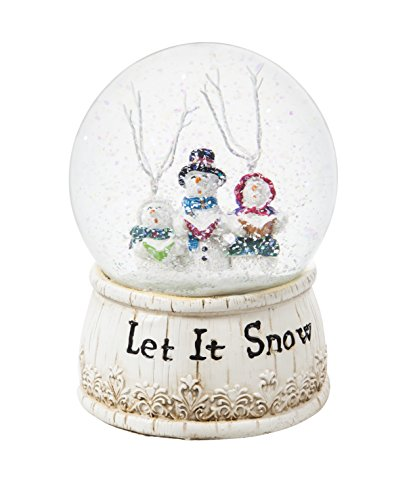 Cypress Home Let It Snow Choir Musical Snow Globe