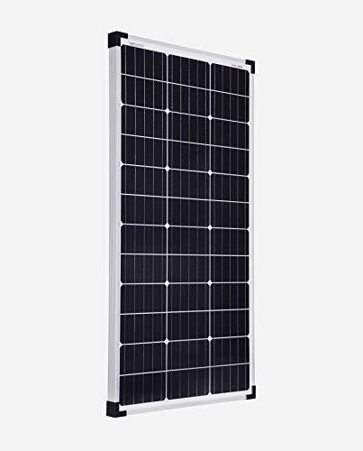 enjoysolar® Módulo Solar Mono 80 W 12 V Panel Solar Ideal para caravana, jardín häuse, Boot (1)