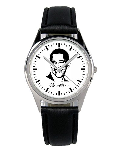Barack Obama Geschenk Artikel Idee Fan Uhr B-1924