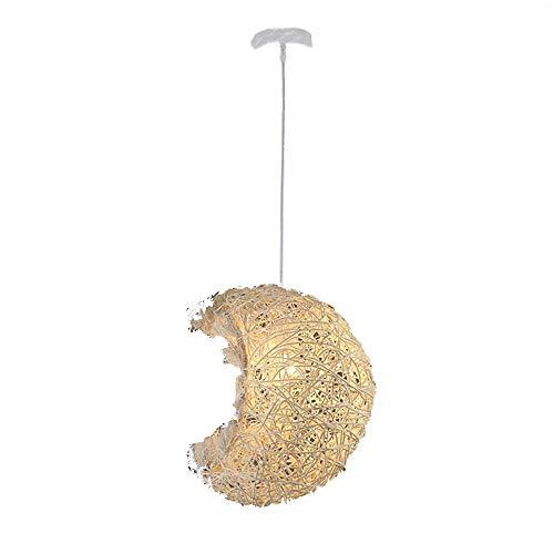Chandelier Creative, Hedendaags Creative Moon kroonluchter instelbare lengte, Living Room, Bar, Café, Eetkamer Warm slaapkamer decoratie lampen