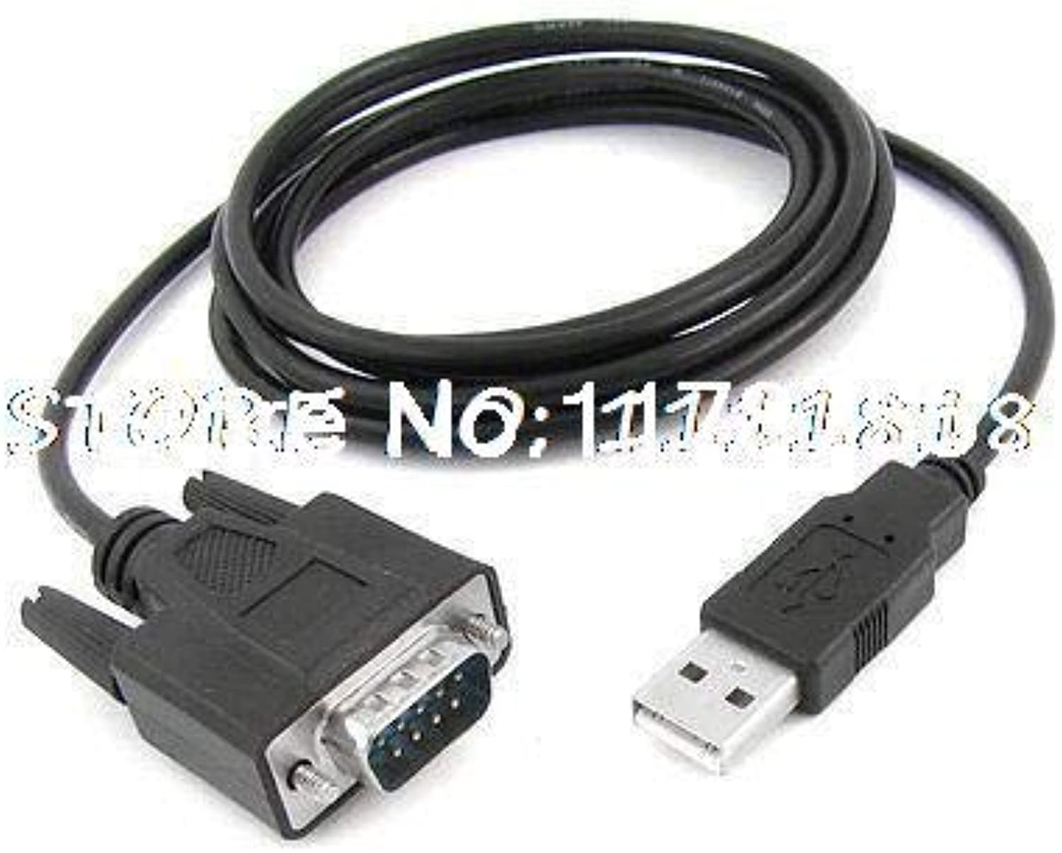 2 Meter 9Pin RS232 to USB 2.0 PLC Programming Cable for PWS5610 VH VB