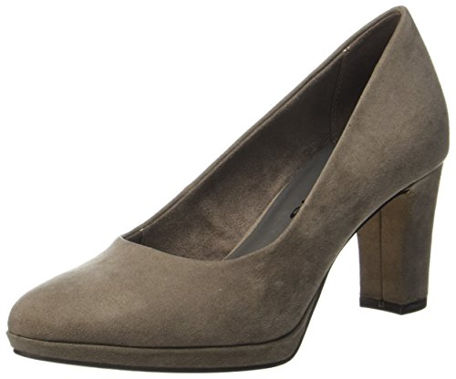 Tamaris Damen 22420 Pumps, Braun (Pepper), 36 EU