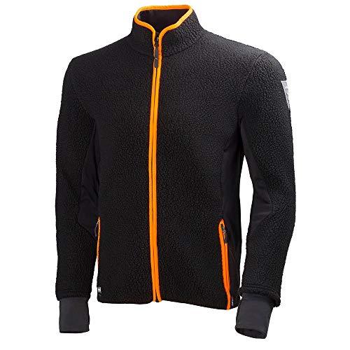 Helly Hansen Workwear Fleecejacke Mjolnir Jacket Faserpelz Arbeitsjacke, M, schwarz, 72270