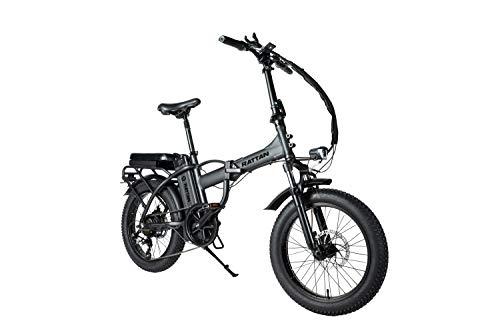 R RATTAN Fat Tire Folding Electric Bike 500W 48V 13AH LCD Display 3.0 Fat Tire All Terrain Foldaway Sport Commuter Snow Bicycle Off Road Dirt Bike