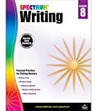 Spectrum 8th Grade Writing Workbook—State Standards for Focused Writing Practice With Writer's Handbook and Answer Key for Homeschool or Classroom (144 pgs)