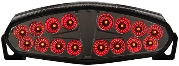 Integrated Sequential LED Tail Lights Smoke Lens for 2009-2011 Kawasaki Ninja 650R & ER-6n