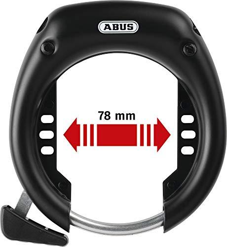 ABUS_ Rahmenschloss Shield 5650L NR Schwarz Fahrradschloss 78 mm