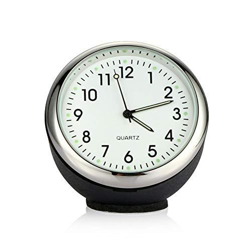Xuba Mini Voiture Automobile Digital Horloge Automatique Montre Automotive Thermomètre hygromètre Décoration Ornement Horloge