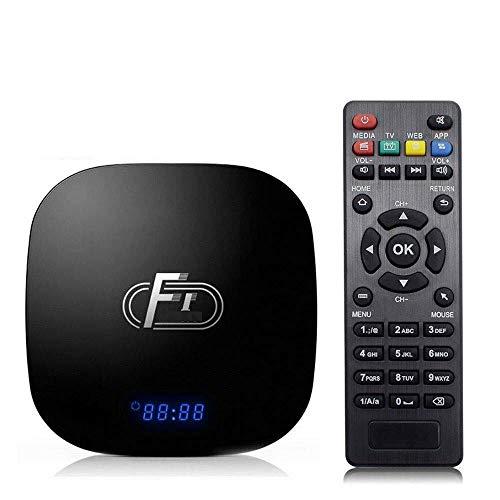 Smart TV Box, Android 8.1, 2GB + 16GB, TV Box, Amlogic Quad-Core-Cortex-A53,...