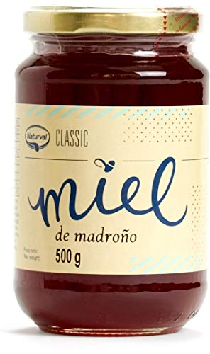 Miel de Madroño de España 500 grs - Miel Natural de abeja 100 % Pura 500 grs