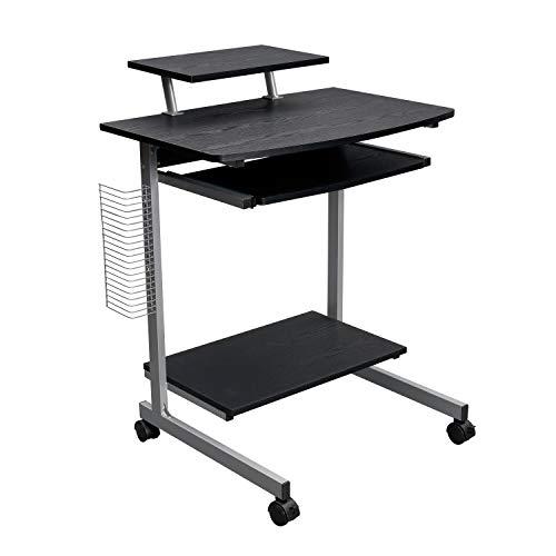 Techni Mobili Small Computer Cart with Storage