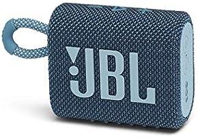 JBL GO 3 Bluetoothスピーカー USB C充電/IP67防塵防水/パッシブラジエーター搭載/ポータブル/2020年モデル ブルー JBLGO3BLU 【国内正規品/メーカー1年保証付き】