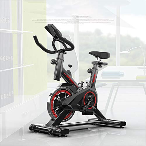 Spinning Bike, Peloton Bike, Fitness Cardio Home Cycling, Excersize Bike for Home Use, Aerobic Indoor Training Exercise Bike, 6kg Flywheel, with Pulse Monitor