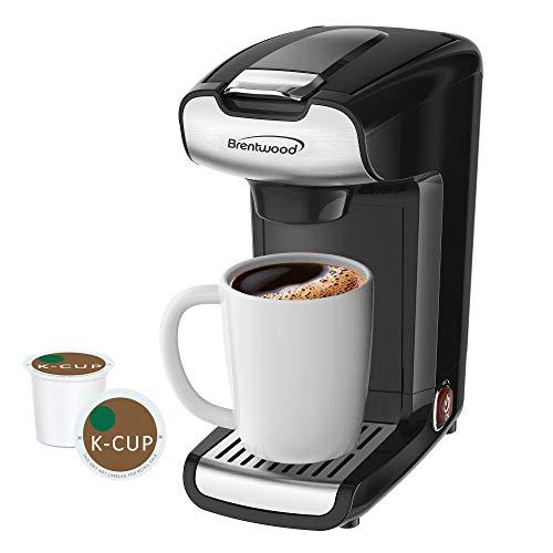 Brentwood Appliances BTWTS110BK K-Cup Single Serve Coffee Maker, One Size, Black