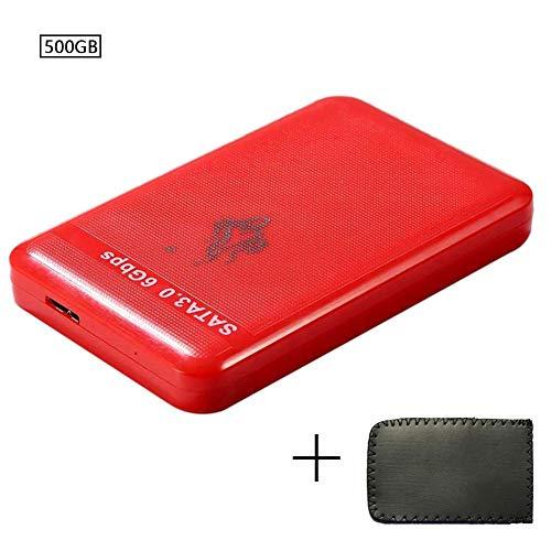 Haodou. 500GB 1TB 2TB SATA3 Unidad de Disco Duro portátil Externa USB 3.0 para PC portátil Mac Software de Copia de Seguridad automática Unidad móvil USB-C USB 3.0