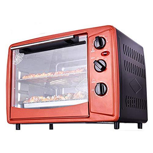 Multifunctionele oven, huishoudelijke elektrische pizzakoekjes, broodrooster 1500W 30L onafhankelijk, temperatuurregeling, broodbakmachine