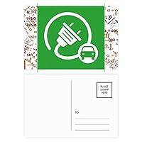 ビッグプラグエネルギー自動車の環境を保護する 公式ポストカードセットサンクスカード郵送側20個