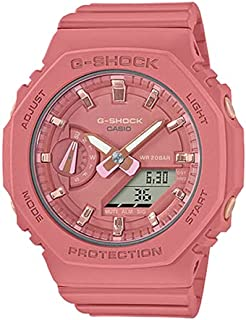 Casio G-SHOCK Women's Watch, Ana-Digi Display, Pink Dial,Carbon Core GMA-S2100-4A