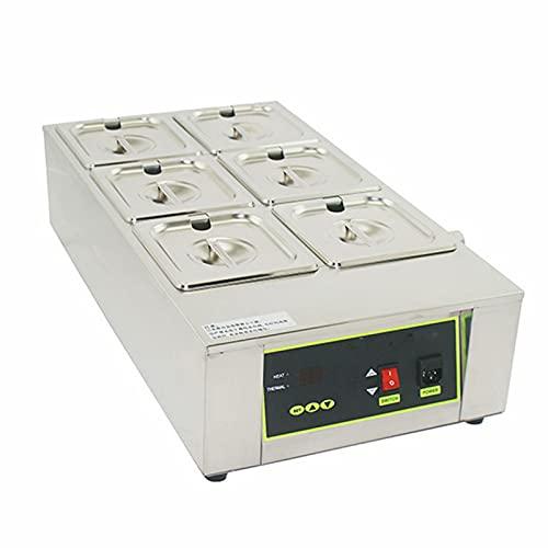 Derretidor de chocolate eléctrico - máquina de templado de chocolate Control digital...