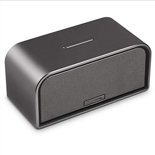 QIXIAOCYB Bluetooth-Lautsprecher-Bluetooth- Lautsprecher tragbarer drahtloser Mini-Bluetooth- Lautsprecher for Heimreise- Strand Freisprechfreie Auto- Subwoofer mit Karte GRAU (Farbe: GRAU)