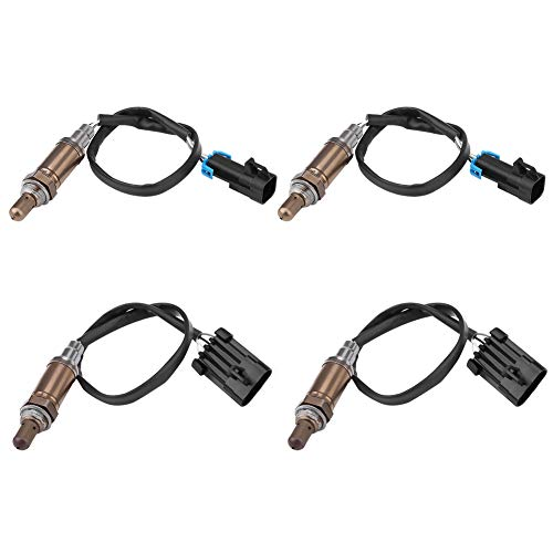 4pcs Upstream&Downstream O2 Oxygen Sensor Compatible With 1996-1998 Chevrolet Silverado GMC 1500 9617178, 234-4012, 234-4018,SG454, SG236, 13474.