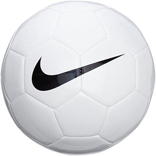 NIKE Ball Team Training Balón, Unisex, Blanco-Blanco, Negro, 3