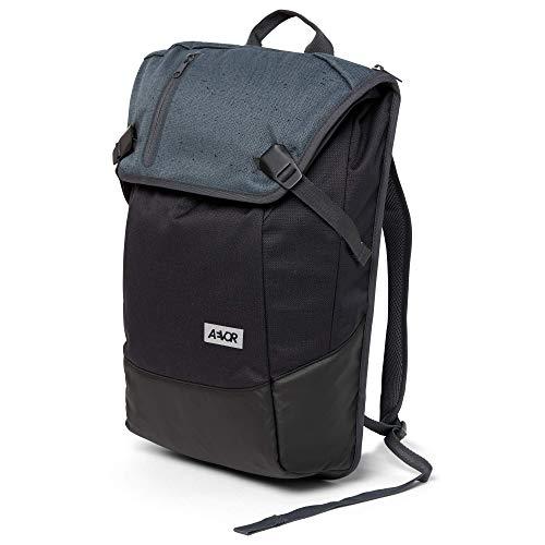 AEVOR Daypack - erweiterbarer Rucksack, ergonomisch, Laptopfach, wasserabweisend, Bichrome Night