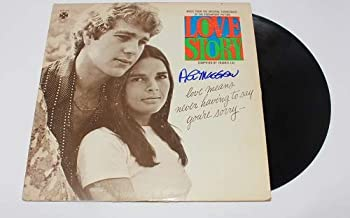 Love Story Ali MacGraw Signed Autographed Lp Record Album with Vinyl Loa