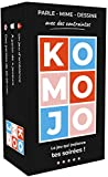 Komojo ⚡️Nouveau Jeu de société Famille Ambiance , Jeux de Cartes & Jeu soirée Societe, Parle, Mime, Dessin avec des contraintes folles