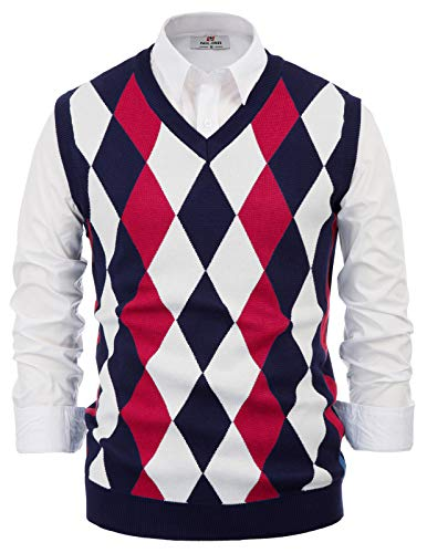 Mens Argyle Sweaters Vest
