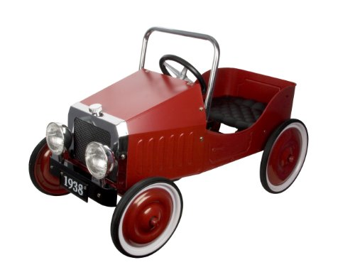Great Gizmos Red Classic Pedal Car