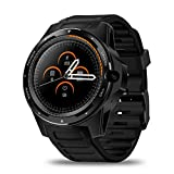 Zeblaze Thor 5 Android 4G Smart Watch, Dual Systems Men's and Women Fitness Tracker Smartwatch 2G RAM+16G ROM Display 8MP Front Camera GPS WiFi Heart Rate Monitor Sport Smartwatch(Black)