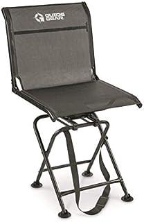 Guide Gear Big Boy Comfort Swivel Hunting Blind Chair,...