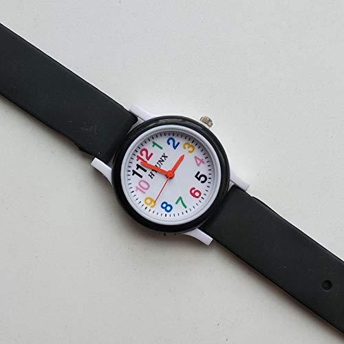 watch 2019 recién llegado de cuarzo reloj para niños correa de silicona número de aprendizaje relojes niños regalo de navidad reloj electrónico digital