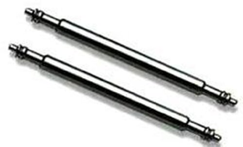 2 Stück Pins Federstege 24mm 1,5mm Ø Edelstahl Federsteg Uhren Pins Uhrenstifte Uhrenarmband Stifte Spring Bar