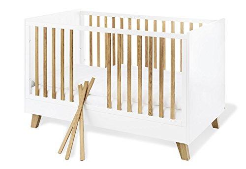 Pinolino 113420 Kinderbett 'Pan', weiß