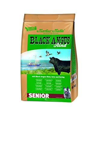 Markus Mühle Black Angus Senior Hundefutter, 1er Pack (1 x 15 kg)
