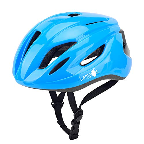 Lemaot Bike Helmets for Adults Lightweight 14 Vents Dial Fit System CPSC Certified Bicycle, Road Cycling Helmet Mountain Bike Helmets Bicycle Helmets for Men and Women(Blue)